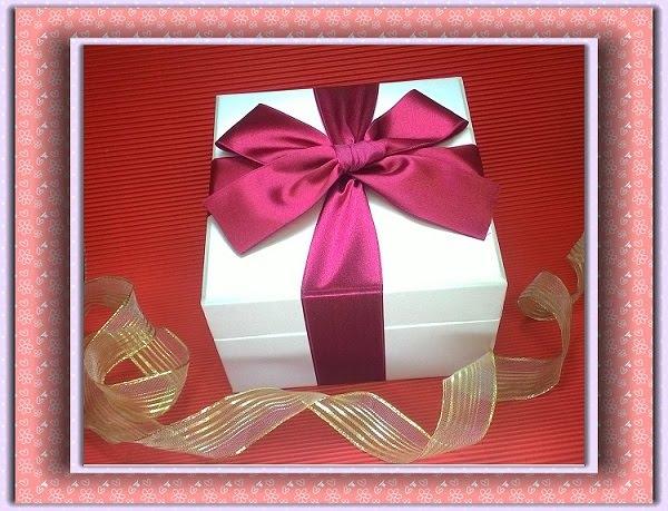 母親節 音樂盒 加 高貴緞帶